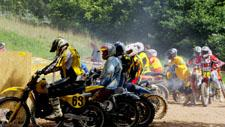 Motocross Rennen Start 01