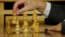Schachpartie 01