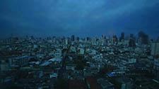 Bangkok's Skyline bei Nacht 01