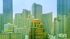 Moderne Architektur in Bangkok 01