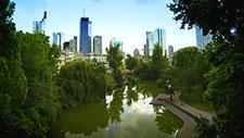 Skyline Frankfurt - Drohnen Aufnahme 03
