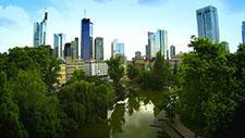 Skyline Frankfurt - Drohnen Aufnahme 04