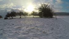 Schneetreiben bei Sonne [Gopro 2,7k] 01