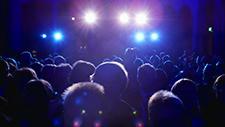 Fans auf Rockkonzert 01