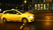 Berliner Straße nachts 09