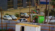Parkplatz in Nairobi 01
