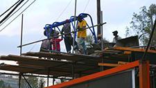 Afrikanische Baustelle 13