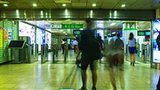 Seoul Bahnhof Zeitraffer 06