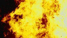 Großes Feuer Zeitlupe 96 Frames pro Sekunde 21