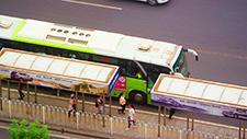 Bushaltestelle in Asien (Peking) 01