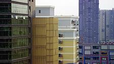 Hochhaussiedlung in Asien (Peking) 03