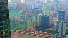 Hochhaussiedlung in Asien (Peking) 04