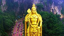 Batu Caves Hindu Statue 01