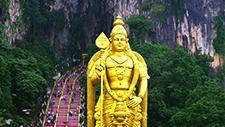 Batu Caves Hindu Statue 03