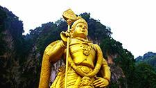 Batu Caves Hindu Statue 04