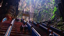 Batu Caves Treppe 04