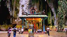 Batu Caves hinduistischer Tempel 02