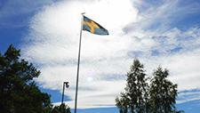 Schwedische Flagge 01