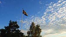 Schwedische Flagge 03