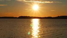 Sonnenuntergang am See 01