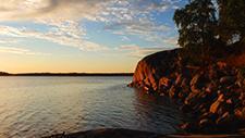 Sonnenuntergang am See 05