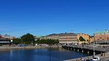 Fussgängerbrücke in Stockholm 03