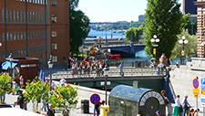 Fussgängerbrücke in Stockholm 04