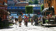 Fussgängerzone Schweden (Stockholm) 04