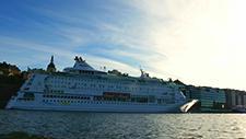 Motorbootfahrt im Stockholmer (Schweden) Hafen 20