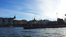 Motorbootfahrt im Stockholmer (Schweden) Hafen 22