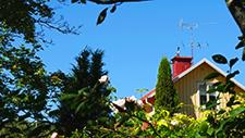 Abgelegenes Haus in der Natur 03
