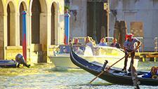 Venedig Gondoliere 05