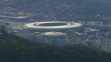 Maracana Stadion in Rio de Janeiro 01